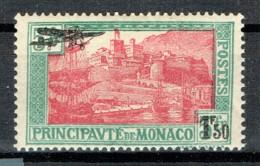 Monaco 1933 Luftpost Yvert 1 MH - Neufs