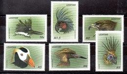 Serie De Lesotho Nº Yvert 1465/70 ** AVES (BIRDS) - Lesotho (1966-...)