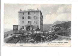 L'Hôtel Weisshorn, S/Vissoie. (Saint Luc, Cachet Rouge De L'hôtel Au Dos). - VS Valais