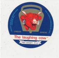 V 214 / ETIQUETTE DE FROMAGE   LA VACHE QUI RIT  THE LAUGHING COW - Quesos
