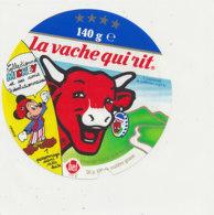 V 215 / ETIQUETTE DE FROMAGE   LA VACHE QUI RIT  MICKEY  140 G - Quesos