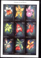 Serie De Lesotho N ºYvert 1530/38 ** FLORES (FLOWERS) - Lesotho (1966-...)