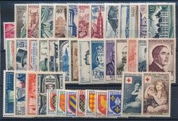 CP-305: FRANCE: Lot Avec Année 1954** - France