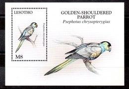Hoja Bloque De Lesotho N ºYvert 129 ** PAJAROS (BIRDS) - Lesotho (1966-...)