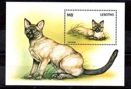 Hoja Bloque De Lesotho N ºYvert 131 ** GATOS (CAT) - Lesotho (1966-...)