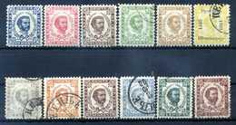 1879/1894 MONTENEGRO LOTTO */usato - Montenegro