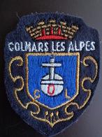 ECUSSON TISSU BRODE DE COLMARS LES ALPES - Patches