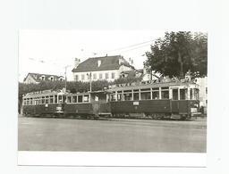 Suisse Genève Tramway Rondeau De Carouge 1948 Pub Suze, Cpm - GE Geneva