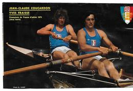 COUCARDON Jean - Claude - FRAISSE Yves - Aviron