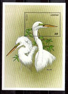 Hoja Bloque De Lesotho N ºYvert 144 ** AVES (BIRDS) - Lesotho (1966-...)