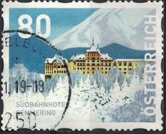 Autriche 2018 Oblitéré Rond Used Südbahnhotel Semmering Basse Autriche SU - 1945-.... 2nd Republic