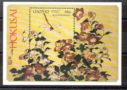 Hoja Bloque De Lesotho N ºYvert 147 ** FLORES (FLOWERS) - Lesotho (1966-...)