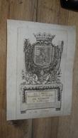 Bel Ex-libris Armorié XVIIème - Serenissimi Principis DE MARSAN A Lotharingia    …... … PHI - Ex Libris