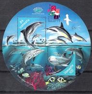 Vanuatu 2000 Dolphins MS MNH CV £3.00 - Fishes