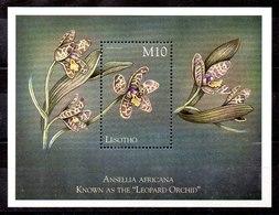 Hoja Bloque De Lesotho N ºYvert 153 **FLORES (FLOWERS) - Lesotho (1966-...)