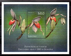 Hoja Bloque De Lesotho N ºYvert 154 **FLORES (FLOWERS) - Lesotho (1966-...)