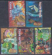 Afrique Du Sud  N° 1128 / 32  XX  : Mythes Et Légendes Sud-africaine, Les 5 Valeurs Sans Charnière, TB - Afrique Du Sud (1961-...)