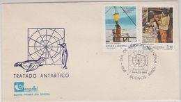 Argentina 1987 Antarctica / 25th. Anniversary Of The Antarctic Treaty 2v FDC(42358) - Argentinië