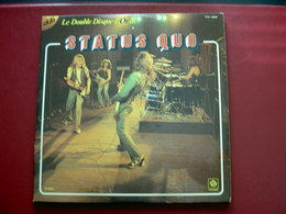 STATUS QUO - Double Disque D'Or - 2 LP - Rock