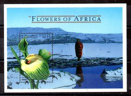 Hoja Bloque De Lesotho N ºYvert 164 **FLORES (FLOWERS) - Lesotho (1966-...)
