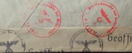 R1947/81 - ✉️ De Libourne (Gironde) Du 1er/07/1941 Pour Un Prisonnier Allemand CENSUREE Par LA WEHRMACHT (voir Cachets) - France