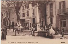 C.P.A. - VENCE -  LA FONTAINE - 33 - L. L. - FABRIQUE DE TIGES - PEINTURE ET VITRERIE GASPARINI - VILLA A LOUER - Vence