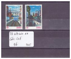 BELGIQUE No COB TR 459-460 ** ( SANS CHARNIERE ) - COTE: 50 € - Railway