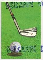 Terrain De Golf; Club Et Balle Edizioni Torchio Stampa - Golf
