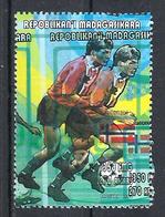 1998 Madagascar MNH - France FIFA World Cup Football Soccer - Norway Norvège - Error Erreur - World Cup