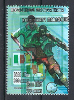 1998 Madagascar MNH - France FIFA World Cup Football Soccer - Cameroon Cameroun - Error Erreur - World Cup