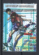 1998 Madagascar MNH - France FIFA World Cup Football Soccer - Chile Chili - Error Erreur - World Cup