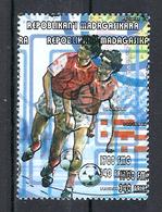 1998 Madagascar MNH - France FIFA World Cup Football Soccer - Denmark Danemark - Error Erreur - World Cup