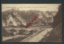 """Comblain-au-Pont - Rochers """"Les Tartines"""" Et La Gare Au """"Pont De Scay"""" - Comblain-au-Pont"""
