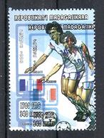 1998 Madagascar MNH - France FIFA World Cup Football Soccer - France - Error Erreur - 1998 – France