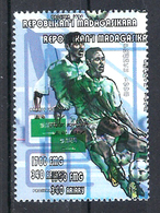 1998 Madagascar MNH - France FIFA World Cup Football Soccer - Saudi Arabia Arabie Saoudite - Error Erreur - World Cup