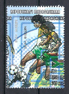 1998 Madagascar MNH - France FIFA World Cup Football Soccer - South Africa Afrique Du Sud - Error Erreur - World Cup
