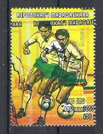 1998 Madagascar MNH - France FIFA World Cup Football Soccer - Bulgaria Bulgarie - Error Erreur - 1998 – France