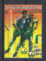 1998 Madagascar MNH - France FIFA World Cup Football Soccer - Nigeria - Error Erreur - World Cup