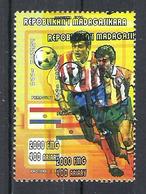1998 Madagascar MNH - France FIFA World Cup Football Soccer - Paraguay - Error Erreur - World Cup