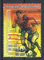 1998 Madagascar MNH - France FIFA World Cup Football Soccer - Spain Espagne - Error Erreur - World Cup