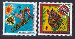 WALLIS ET FUTUNA N°  232 & 233 ** MNH Neufs Sans Charnière, TB (D8932) Année De L'enfant, UNICEF - 1979 - Wallis And Futuna