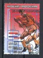1998 Madagascar MNH - France FIFA World Cup Football Soccer - Netherlands Pays Bas - Error Erreur - World Cup