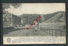 Comblain-au-Pont - Hôtel De Belle Vue Et Quai De L'Ourthe. La Belgique Historique - Comblain-au-Pont
