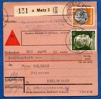 Colis Postal  -  Départ Metz 3 --  05/2/1943 - Germany