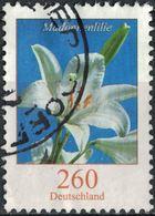 Allemagne 2016 Oblitéré Rond Used Fleur Madonnenlilie Lilium Candidum Lis Blanc SU - [7] République Fédérale