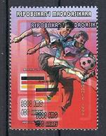 1998 Madagascar MNH - France FIFA World Cup Football Soccer - Germany Allemagne - Error Erreur - 1998 – France