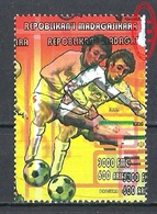 1998 Madagascar MNH - France FIFA World Cup Football Soccer - Iran - Error Erreur - World Cup