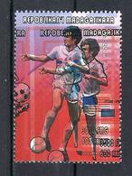 1998 Madagascar MNH - France FIFA World Cup Football Soccer - USA United States Etas Unis - Error Erreur - World Cup