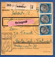 Colis Postal  -  Départ Bromberg 1 --  08/2/1943 - Deutschland