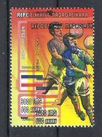 1998 Madagascar MNH - France FIFA World Cup Football Soccer - Yugoslavia Yougoslavie - Error Erreur - World Cup